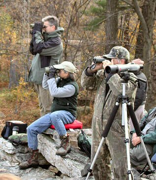 Hawk Watchers at Waggoner's Gap Hawk Watch